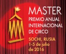 Llega la segunda edición de los premios internacionales de circo MASTER