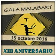 Gala XIII Aniversario Malabart