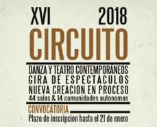 Convocatoria del Circuito 2018 de la Red de Teatros Alternativos