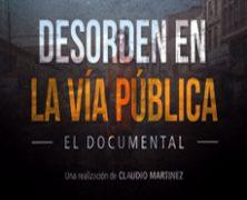 Desorden en la vía pública