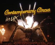 Un vistazo al circo «contemporáneo» en el Reino Unido