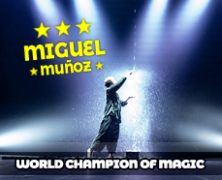 Miguel Muñoz premio mundial de magia 2018