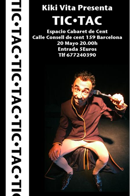 Kiki Ray con TIC.TAC en Cabaret de Cent