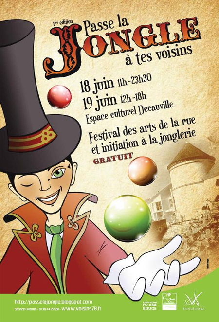 Passe la Jongle a Tes Voisins 2012