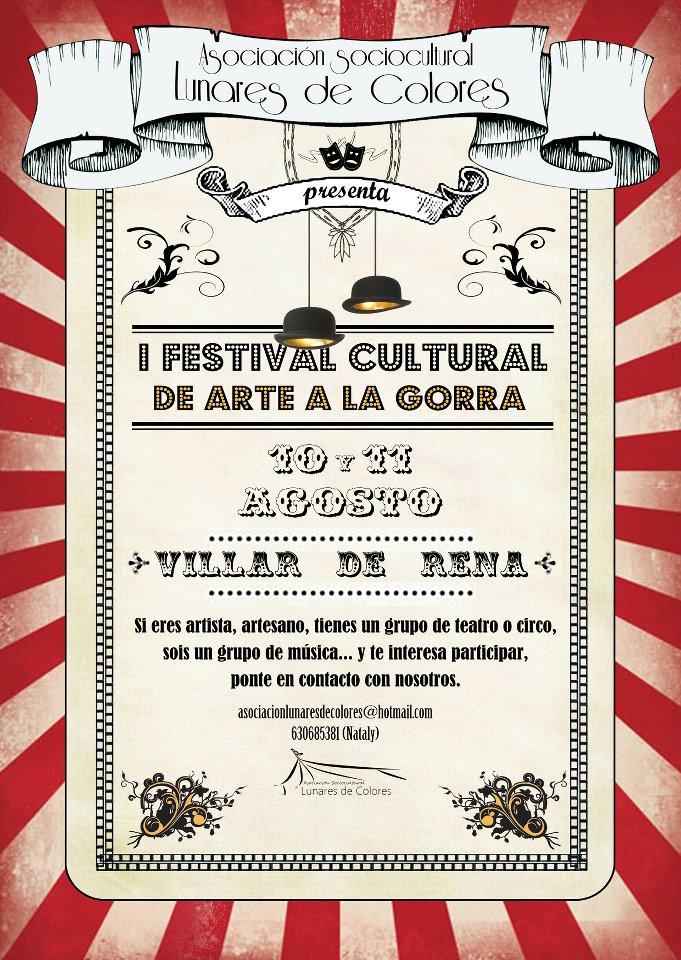 I Festival Cultural a la Gorra de Villar de Rena
