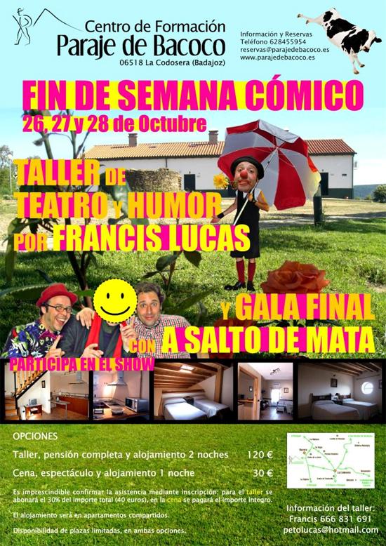 Fin de Semana Cómico en Bacocos 2012