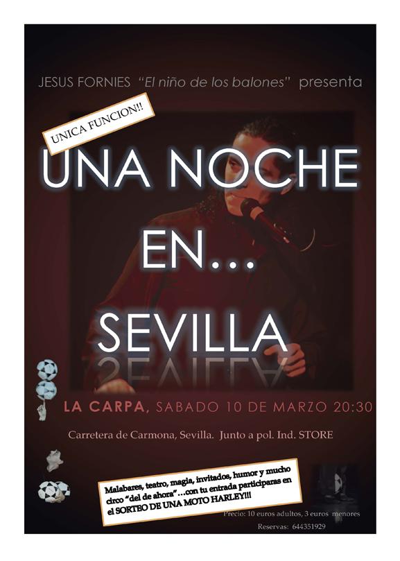 Una Noche en Sevilla con Jesús Fornies
