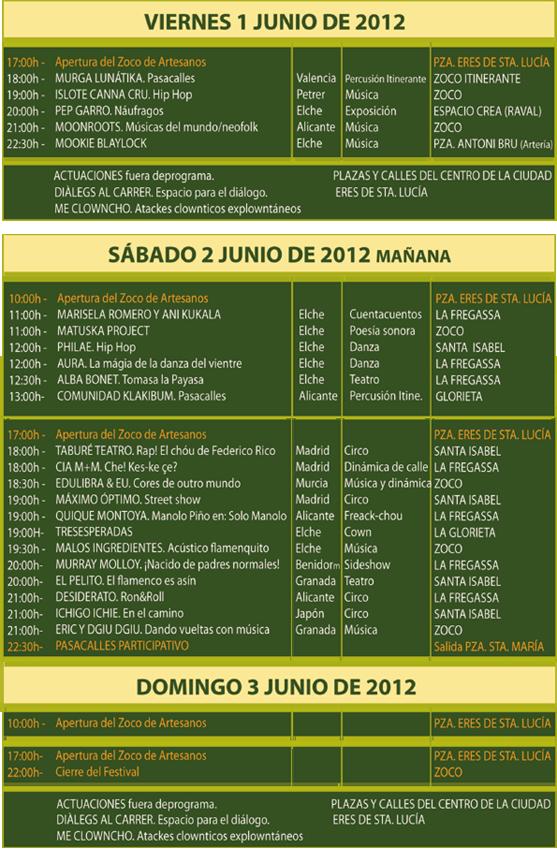 Festival ELS AL CARRER 2012