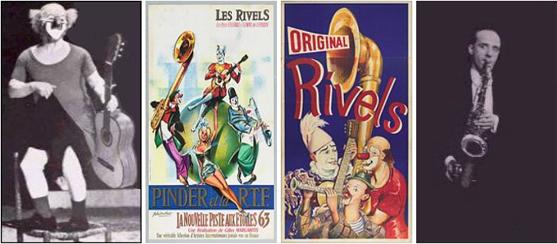Los Andreu Rivel, el circo y la música... fusión perfecta