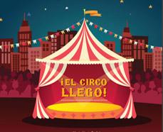 Libro Infantil ¡el circo llegó!