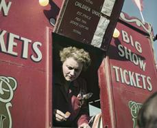 Circo en la fotografía de Robert Capa